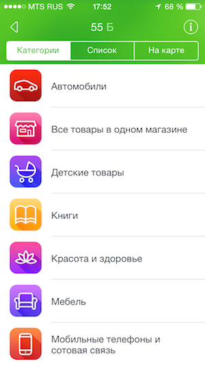 Партнеры Спасибо iPhone