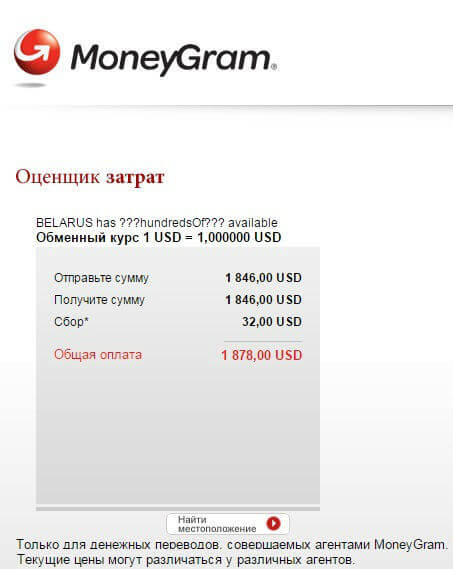 moneygram сбербанк
