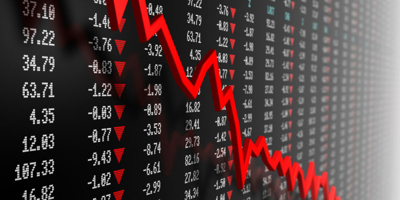 Свечной и интерактивный график акций Сбербанка