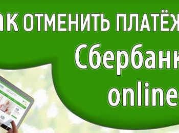 Способы отмены платежа в Сбербанке Онлайн при статусе «Исполняется»
