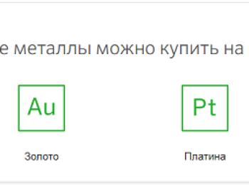 Котировки обезличенного металлического счета (ОМС) в Сбербанке России