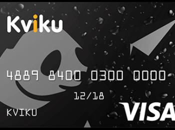 Kviku – как вывести деньги на карту Сбербанка, для чего предназначена карта