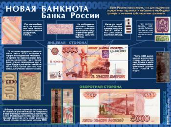 Проверка подлинности купюры в 5000 рублей