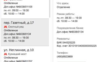 сбербанк центральный офис в москве режим работы