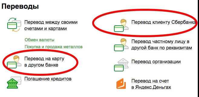 Яндекс деньги перевод на карту сбербанка по номеру телефона