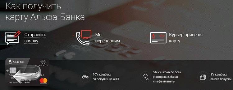 """Альфа банк """"Alfa Bank Cashback"""