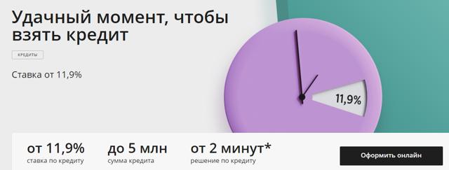 Кредиты наличными в Сбербанке на потребительские нужды физическим лицам в Москве.